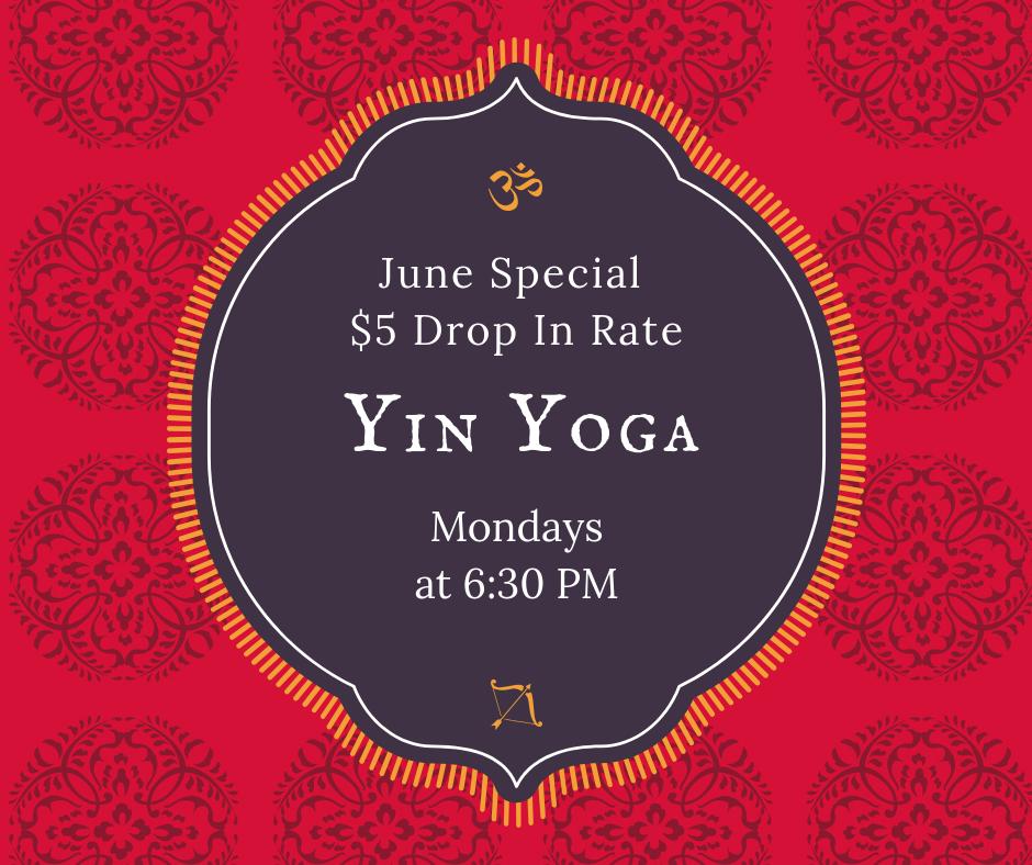 DSY, Yoga Discount, Yoga Special, Yin Yoga